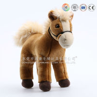 Lovely barking toy horse, new design horse, stuffed and plush toys with sounder