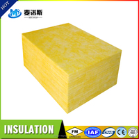 Fireproof Construction Material Glass Wool Thermal Insulation for Fireplace