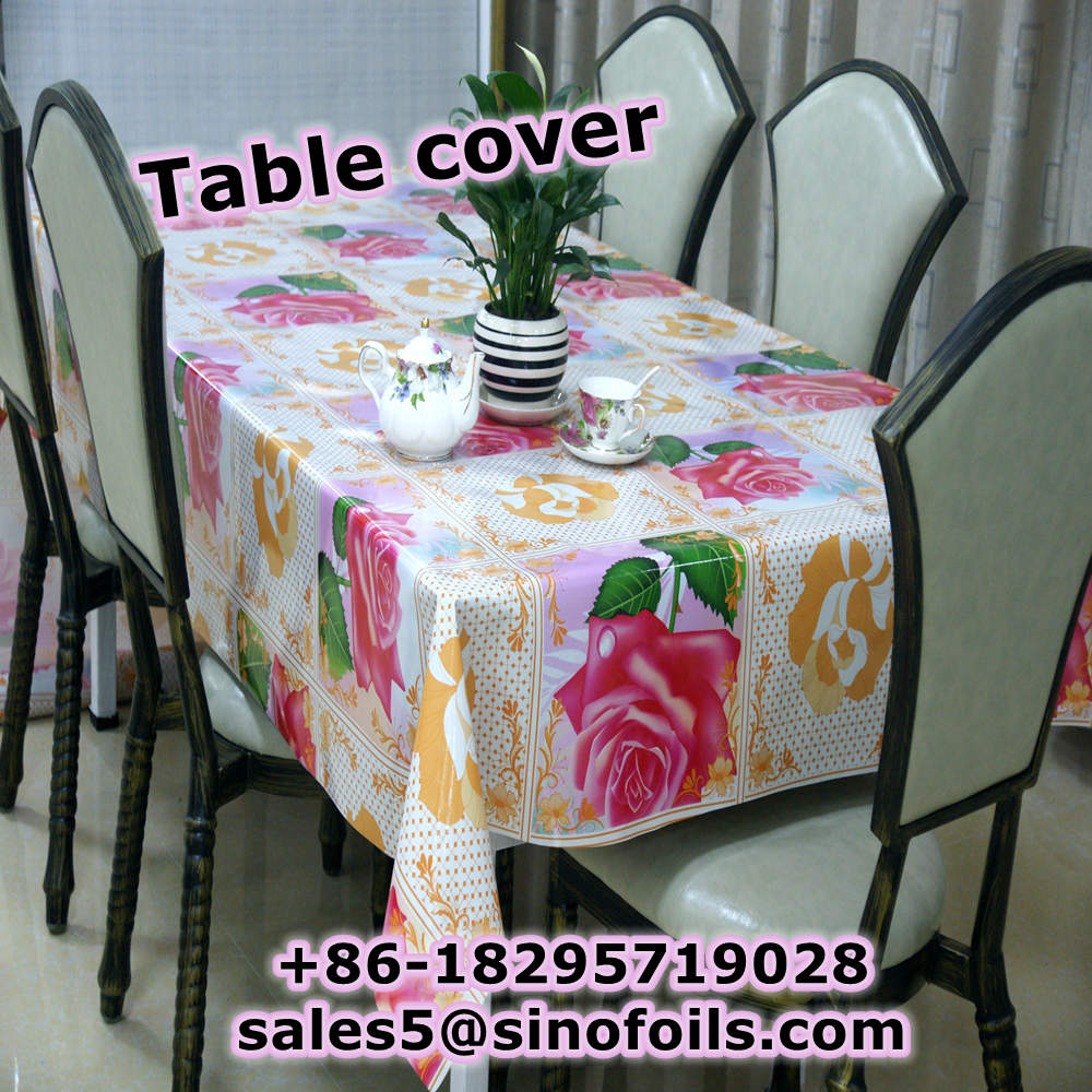 beautiful 3D effect tablecloth for decorative table in 2017