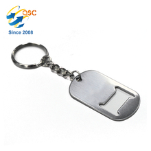 Dog Tag Keychain Metal <strong>Bottle</strong> <strong>Opener</strong>
