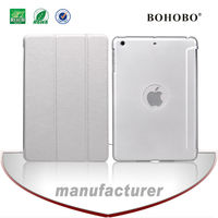 Watching convenient grid PU and PC case for ipad air
