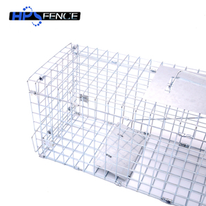 Hot sale automatic galvanized metal rat trap cage for mouse