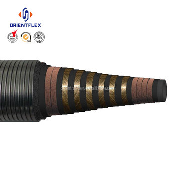 Rotary vibrator and drilling hose