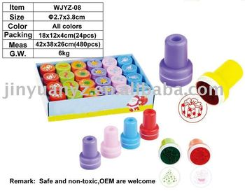 Stamp/Plastic stamp/Toy stamp/Self-inking stamp