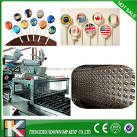 Lollipop application automatic color lollipop candy making machine