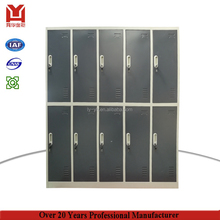 KD structure stadium/school/gym/swimming pool/spa/bank/hospital 10 door steel wardrobe locker