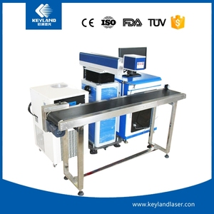 Hot sale Separable 30w On Line Laser Writing Machine for Food Packaging Printing