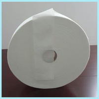 Airlaid paper for ultrathin sanitary napkins
