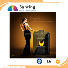 Hot selling efficiency italian pellet stoves