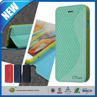 C&T S Pattern Wallet Flip Cover Folio Case for Samsung Galaxy Grand 2 G7106
