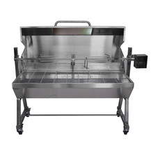 Spit roaster with lid ; Pig roast spit with cover;Rotisserie