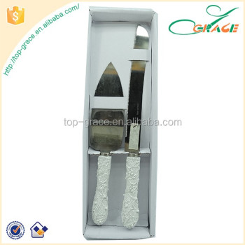 wedding gift wedding decoration knife and cake server