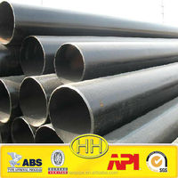 HAIHAO large diameter galvanized welded steel pipe