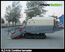 New agricultural machines names Wishope 4LZ-4.0z rice combine