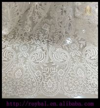 Swiss Lace High Quality African Tulle Lace Embroidered Fabric Polyester Materials French Net Lace Fabric