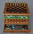 Ten in One MDF Chess Set