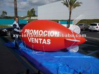 Customized inflatable helium blimp balloon