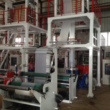 garbage folding plastic HDPE LDPE LLDPE film blowing machine