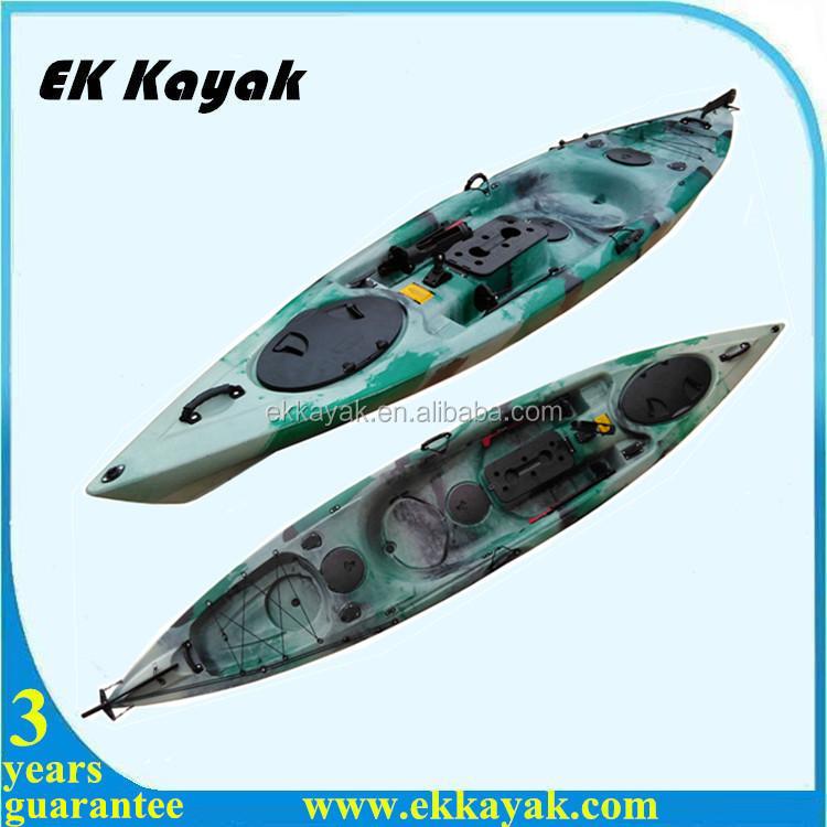 Cheap plastic pedal sea fishing kayak from ek kayak buy for Best cheap fishing kayak