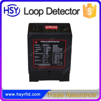 Low Costs car parking management single loop detector