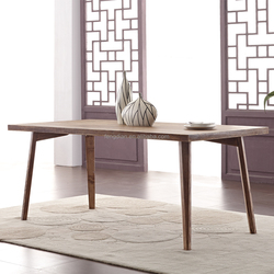 Simply Designed Solid Wood Desk with Elegant Appearance