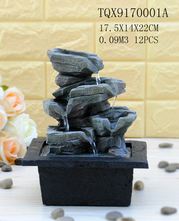 stone art fountain