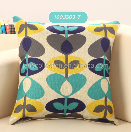 New Design Throw Pillow Case Pillow Cover For Home Decorative Canvas Pillow Covers Wholesale