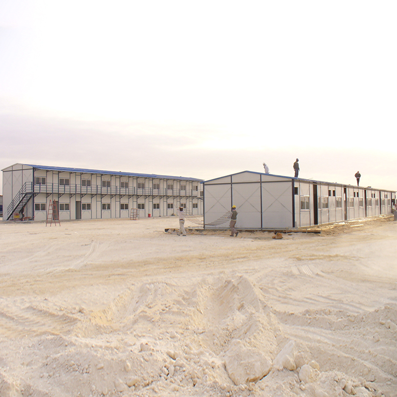 Professional supply modular prefab real estate prefab houses temporary camp