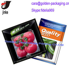 Seed plastic packet