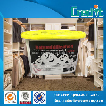 500ml Calcium Chloride desiccant moisture absorber used in home depot