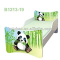 new cute panda kids bed design small child bed in green 1227