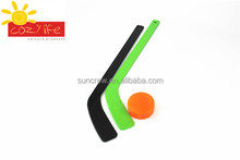 Factory Cheap price promotion custom design full color printing mini plastic ice hockey stick