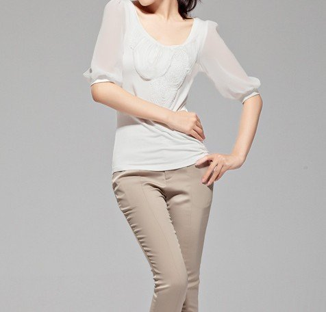 lasy silk blouse 2012
