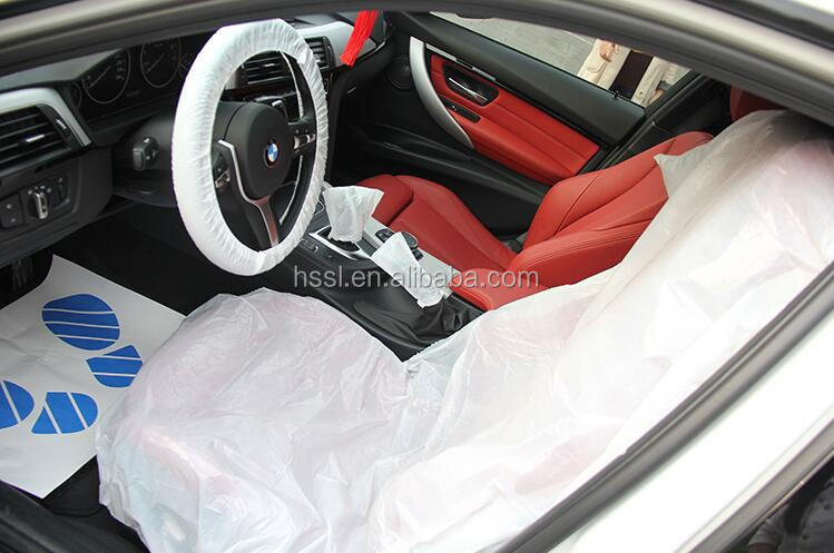 LDPE/HDPE indoor disposable customized winter steering wheel cover