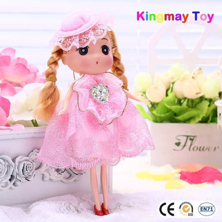 Small Plastic Baby Doll Mini Plastic Toys