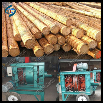Good Quality Forestry Debarker, tree debarking machine
