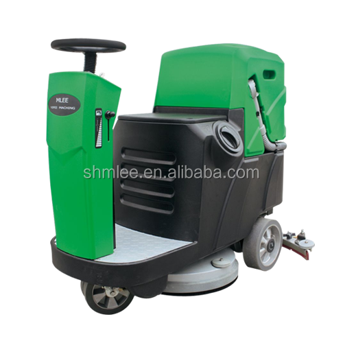 Mini Fully automatic ride on floor scrubber