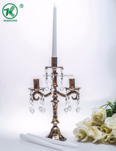 Hot Design Classical European Wedding Decoration Brass Candle stand/Candelabra