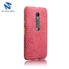 Case For Motorola MOTO G3 Crocodile Texture Laser Colorful Soft Case For MOTO G3 phone shell PU Leather Back Capa Cover