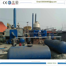 Fully Automatic Waste Oil to Diesel Fuel Refinery Plant