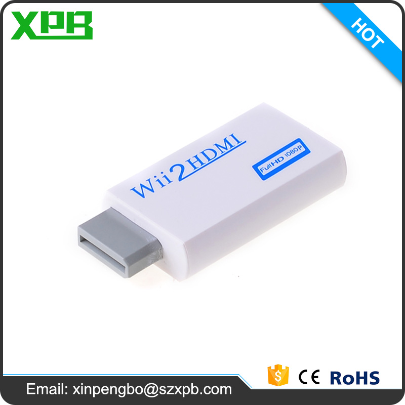 For Nintendo Wii Games Converter Wii to hdmi 1080P