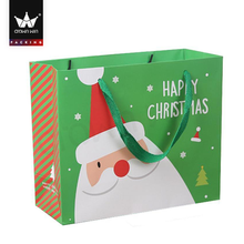 Custom Christmas candy gift paper bag for kids