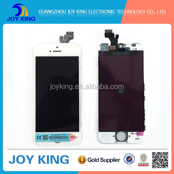 High Quality Replacement Digitizer Lcd Touch Screen For Iphone 5, Lcd Display For Apple iPhone 5 Parts Lcd Screen