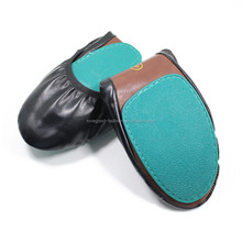 Roll Up Flat Shoes Most Comfortable Black Foldable Ballet Flats
