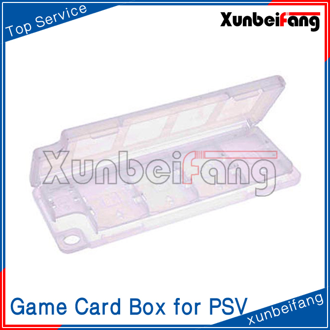 10 in 1 Game Card Box Case for PSV for PS Vita White