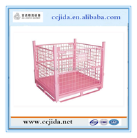 Chinese Factory CE Certified Warehouse Durable Storage Steel Pallet Bin