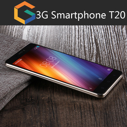 Wholesales 5 inch phone 3000mAh battery power unlocked dual core Android 3g smart phone T20