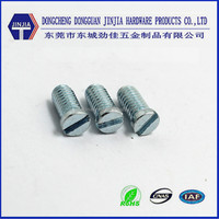 China Screw Manufacturer cheese head slot screw