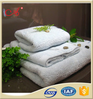 Plain Style 100 cotton fabric prices white towel