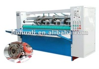 corrugated paperboard packaging machine thin knife slitter scorer/carton box manufacturing machine